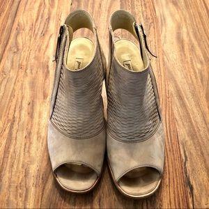 Paul Green Willow Peep-Toe Booties